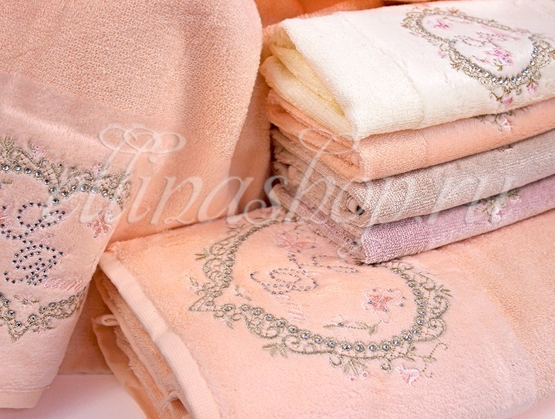 Julied комплект бамбуковых полотенец 3шт. Softcotton