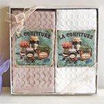 Комплект вафельных полотенец (50x70 2шт) La confiture La villa