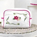 Косметичка махровая Lily Soft cotton