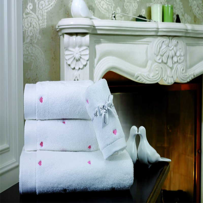 Love хлопковое полотенце Soft Cotton
