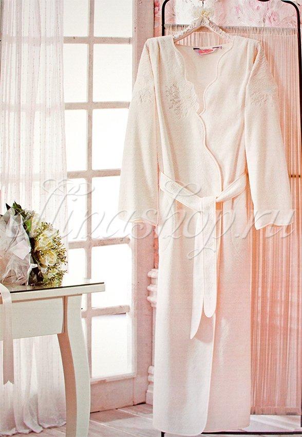 Melis длинный махровый халат Soft cotton