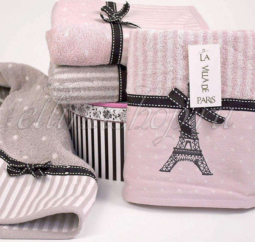 Махровые полотенца Paris La villa