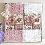 Комплект вафельных полотенец (50x70 2шт) Eua parfum La villa