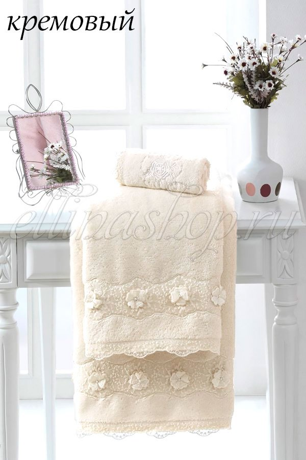 Yonca полотенце лицевое, банное Soft Cotton