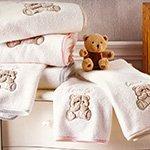 Комплект детских махровых полотенец Lovely (50x190, 70x130) Tivolyo