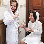 Детский вафельный халат Maya Buldan