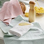 Комплект вафельных полотенец Mix jakarli (40x60 3шт) Tivolyo