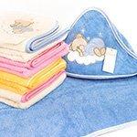 Детское махровое полотенце-уголок La villa