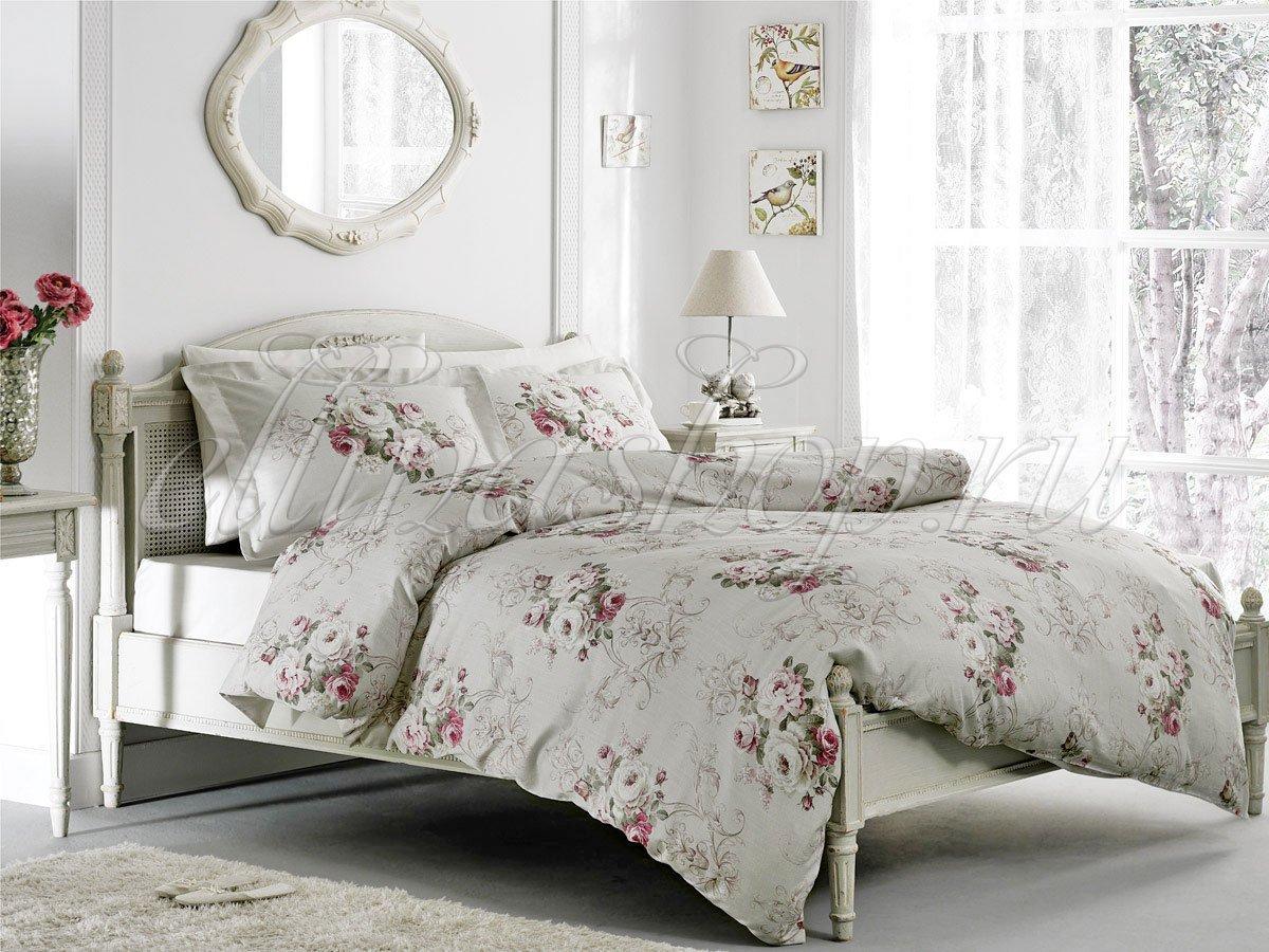 Rose Classic постельное белье из сатина Tivolyo