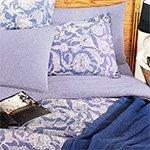 Постельное белье Tuval синий Buldan