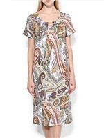 Платье-туника 111С0326 Oriental motif Cote coton