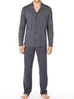 Пижама мужская (рубашка+брюки) 40368 Comfert fit Calida