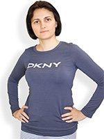 Кофта женская 3013433 Weekend серый DKNY
