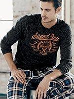Пижама мужская (кофта+брюки) 542010 Jockey