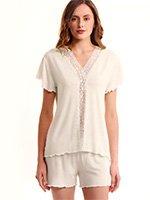 Пижама (футболка, шорты) LMS 3036 Luisa Moretti