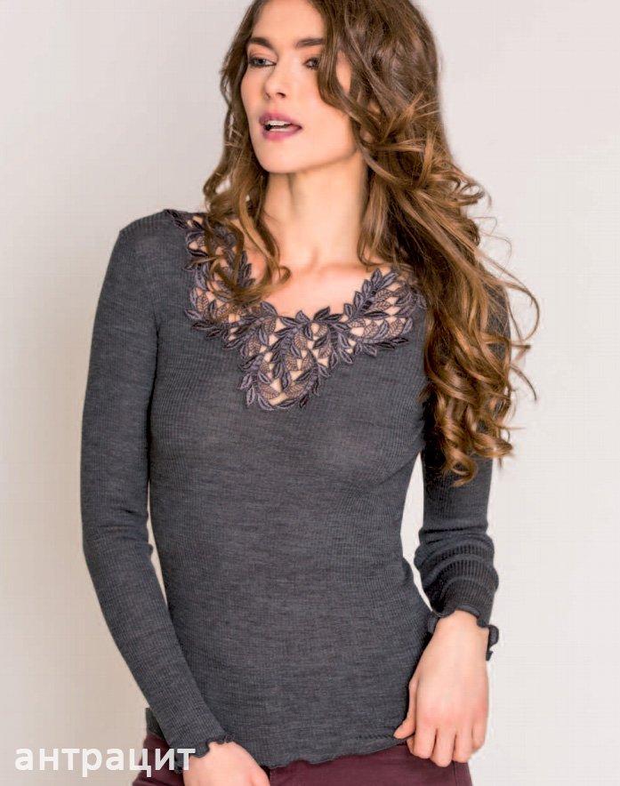 Блуза с вышивкой Lione Madiva