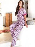 Пижамный комплект (рубашка, брюки) 17067 Nota