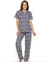 Пижама (рубаха, брюки) 17086 Nota