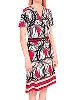 Платье трикотажное 2267 Абстракция Birilik