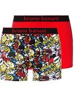 Комплект мужских боксеров 2 пары 2201-1721 Comic красные Bruno banani