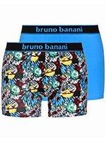 Комплект мужских боксеров 2 пары 2201-1721 Comic голубые Bruno banani