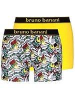 Комплект мужских боксеров 2 пары 2201-1721 Comic желтые Bruno banani
