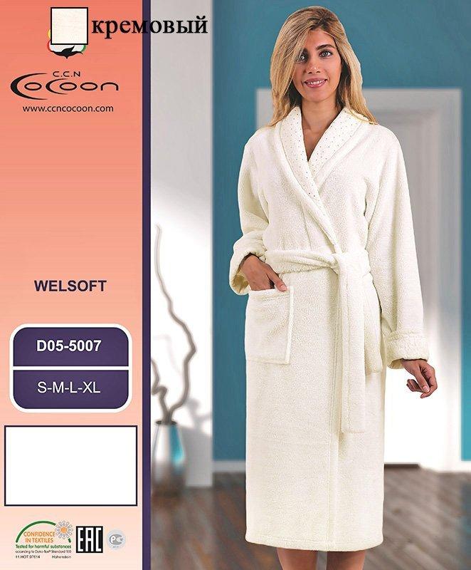 Женский халат из микрофибры 05-5007 Cocoon