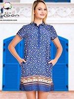 Платье-туника 10305 Cocoon