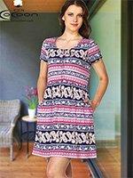Платье трикотажное 10389 Cocoon