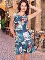 Платье трикотажное 11237 Парус Cocoon
