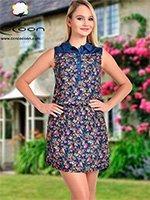 Платье-туника средней длины 11321 Cocoon