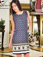 Платье средней длины 11333 Cocoon