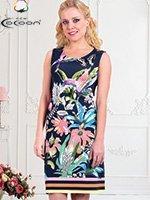 Платье трикотажное, средней длины 11355 Cocoon