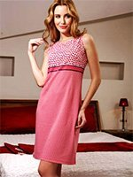 Платье трикотажное 12-116 Сердечки Cocoon