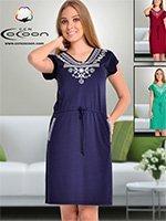 Платье-туника 12391 Cocoon