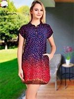 Платье-туника средней длины 12431 Cocoon