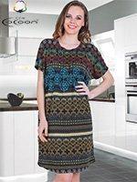 Платье трикотажное H-12536 Cocoon