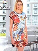 Платье средней длины 12457 Cocoon