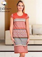 Платьей средней длины 13041 Cocoon