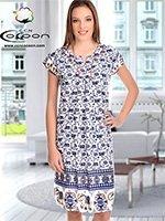 Платьей средней длины 13051 Cocoon