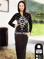 Комплект велюровый (кофта+штаны) 14-543 Амулет Cocoon