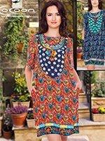 Платье-туника средней длины 18014 Cocoon