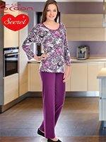 Пижама (кофта+брюки) YPJ-1862 Сафари Cocoon secret