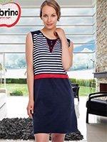 Платье трикотажное 21407 Полоска Sabrina