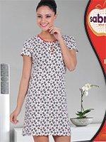 Рубашка средней длины H-22831 Панда Sabrina