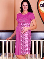 Рубашка для беременных 32803 Sabrina
