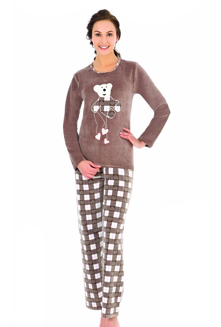 Комплект велюровый (кофта+штаны) 43037 Мишка Sabrina