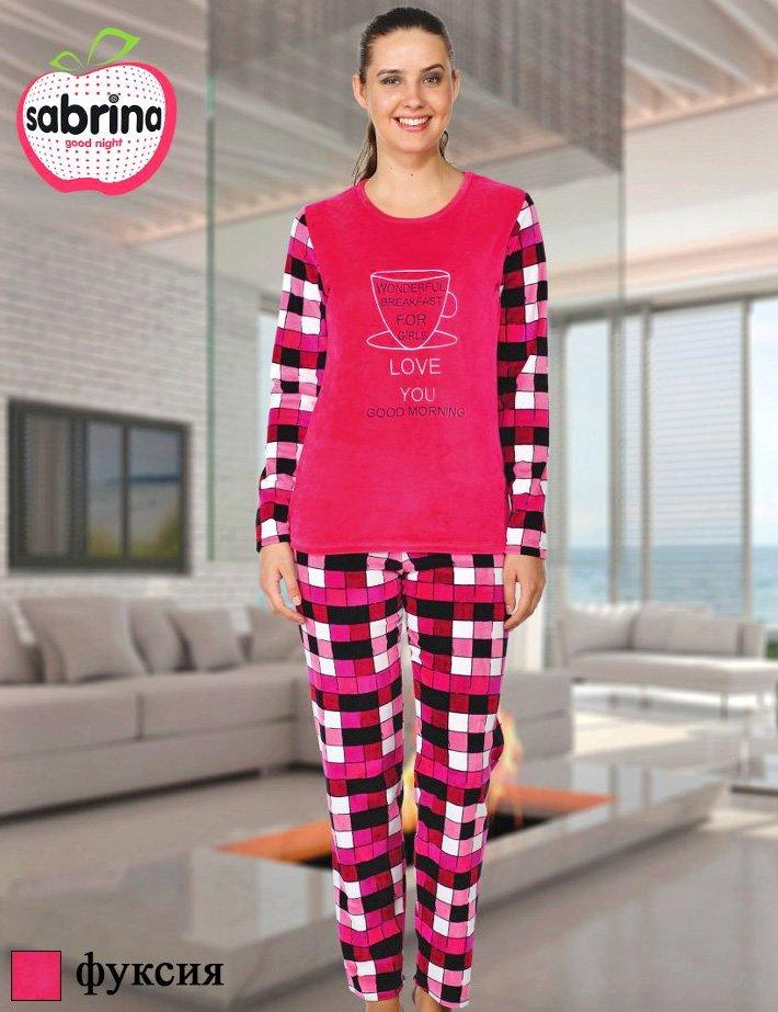 Комплект велюровый (кофта+штаны) 43061 Sabrina