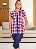 Комплект для отдыха (туника+лосины) 50121 Cocoon