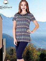 Комплект (футболка, лосины) 50153-50154 Cocoon